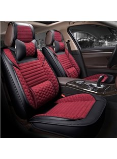 Business Style Designed For Comfort Breathable Linen Universal Car Seat Covers