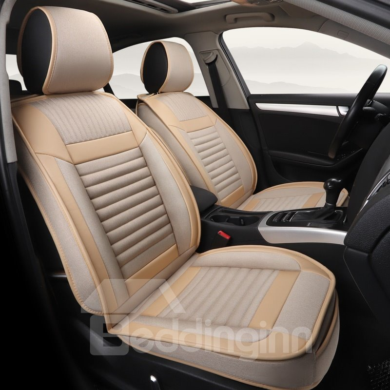 Gorgeous 3D Stripe Design Sports Style Universal Car Seat Covers