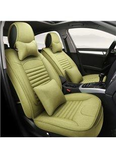 Newfangled Matcha Green Refreshing Durable Universal Car Seat Covers