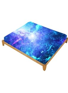 Fitted Sheet for 3D Space Galaxy