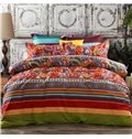 Cotton Boho Bohemian Style 4-Piece Bedding Sets/Duvet Covers