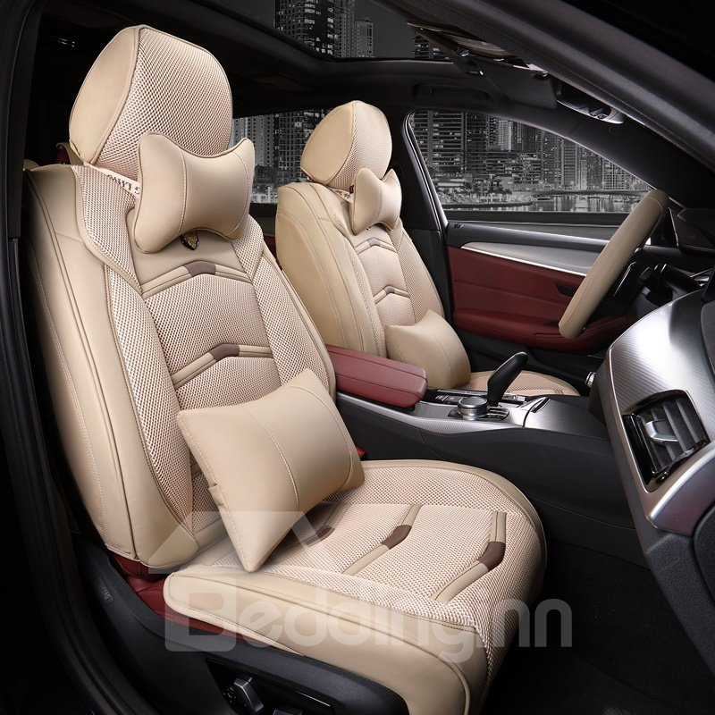 Beddinginn Leather Sports Universal Car Seat Covers Design