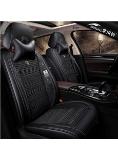 Luxurious Imitation Diamond Decoration Pure Color Universal Car Seat Covers
