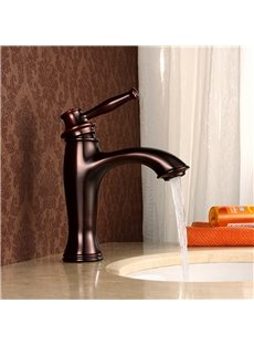 Brass ORB Basin Faucet One Hole One Handle