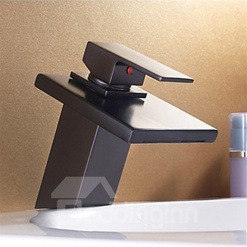 Brass&Stainless Steel ORB Classic Waterfall Faucet One Hole One Handle