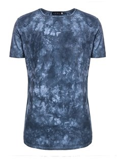 Psychedelic Round Neck Cotton Men Short Sleeve 3D T-Shirt