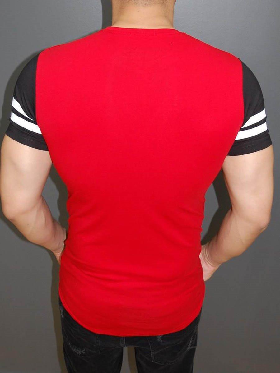 Round Neck Cotton Men Short Sleeve 3D New York T-Shirt
