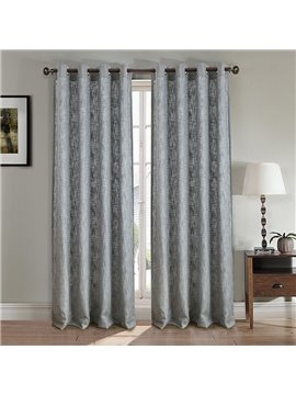 Pure Color 2 Pieces Decorative Door Curtain For Living Room