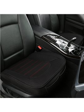 Linen Material Stripe Pattern All Seasons Universal Fit Seat Covers