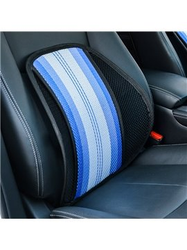 Polyester Material Sripe Patterns Single Seat Universal Fit Seat Covers