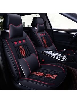 Heart Shaped Simple Style Universal Fit Seat Covers