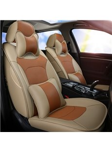 PU Material Simple Style All Seasons Custom Fit Seat Covers