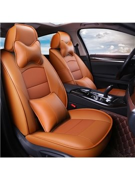 Cotton Filler Business Style Pure Color Custom Fit Seat Covers