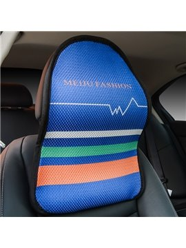 Polyester Material Geometric Patterns All Seasons Single Seat Universal Car Seat Covers