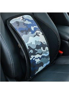 Polyester Material Camouflage Pattern All Seaons Single Seat Universal Car Seat Covers