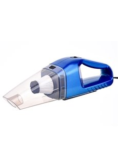 Blue Practical Car Cleaner 12V Handy Car Vacuum Cleaner