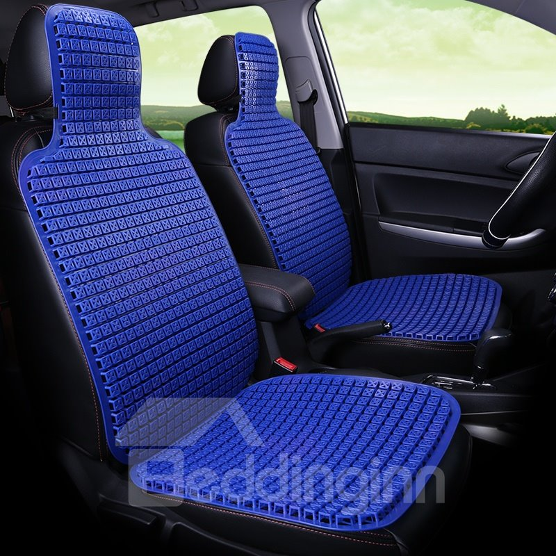 Cool Ice Bead Pure Color Front Single-seat Universal Car Seat Cover