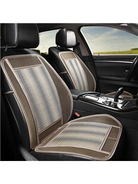 Practical Resin Lithe Pure Color Front Single-seat Universal Car Seat Covers