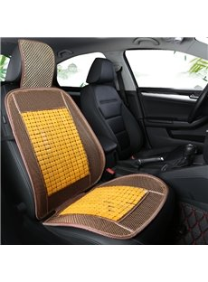 Bright Pattern Cool Massage function Front Single-seat Universal Car Seat Covers