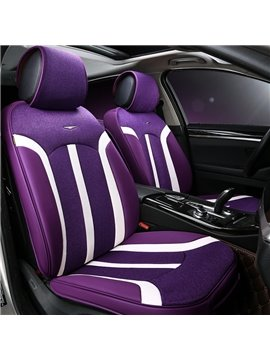 Purple Nylon New Design Soft Universal Fit Car Seat Cover