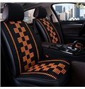 Cool Woven Material Square Pattern Universal Car Seat Covers