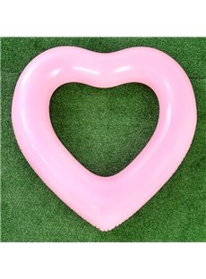 Loving Heart Shape Safe PVC Material Swimming Ring