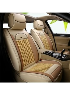 Cool Bamboo Chip Backrest Summer Universal Car Seat Covers