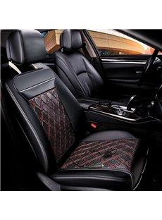 Business Style Nets Pattern PU Material Seat Mat