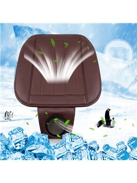 Electric Fans PU Material Cotton Filler Seat Mat