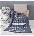 Animal Cartoon Geometric Plant Pattern Cotton Material Baby Blanket