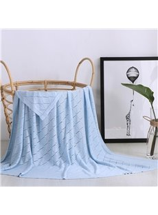 Portable Feature Bamboo Fiber Material Rectangle Shape Bed Blanket