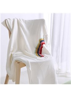Fall Spring Season Cotton Material Towel Blanket