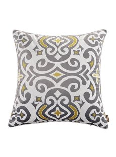 Polyester Material Stitching Technics Cushion Type Goose Down Filler Throw Pillow Case