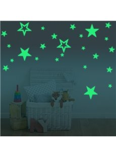 Children Glow Decor Luminous Stars Fluorescent Wall Sticker