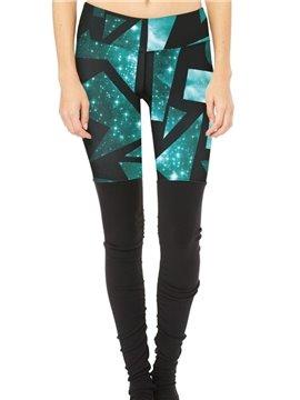 Skinny Model Polyester Material Full Length Elastic Closure Type Sport Pants