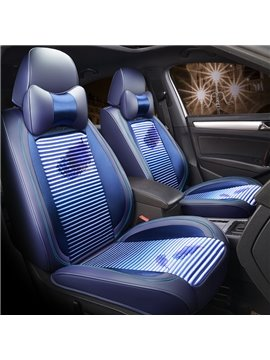 Gradually Changing Color Material Newfangled Universal Fit Car Seat Covers
