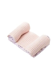 Baby Anti-flat Head Mat and Velvet Adjustable Dual-use Pillow