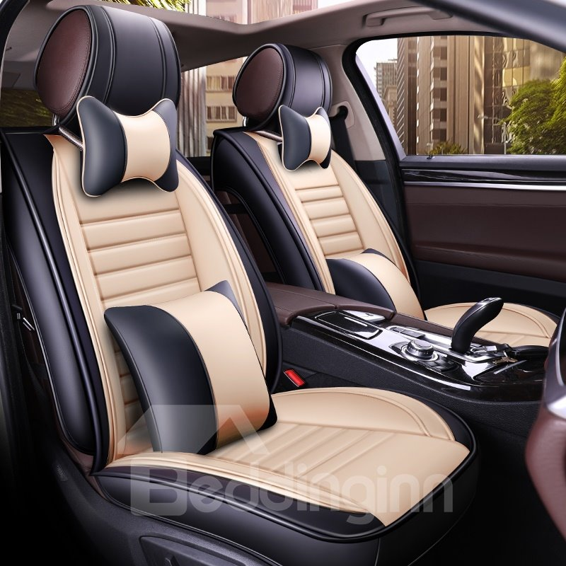 All Seasons Cotton Filler Five Seats Combination Type Universal Seat Covers