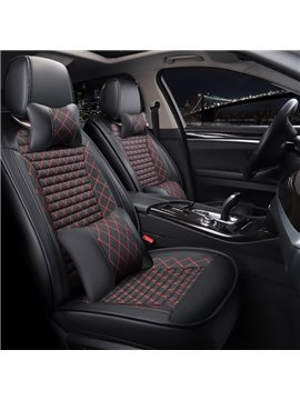 Five Seats Combination Type All Seasons PU Material Universal Seat Covers