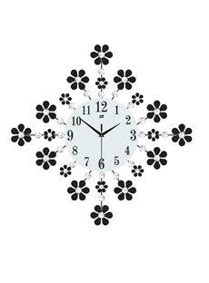 Creative Pattern Design Separates Combination Single Face Form Wall Clock