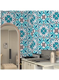 Bohemian Style Waterproof Silk Cloth Material Self-Adhesive Wall Murals