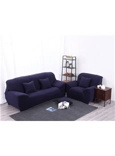Elegant Simple Style Plain Pattern Slip Resistant Sofa Cover