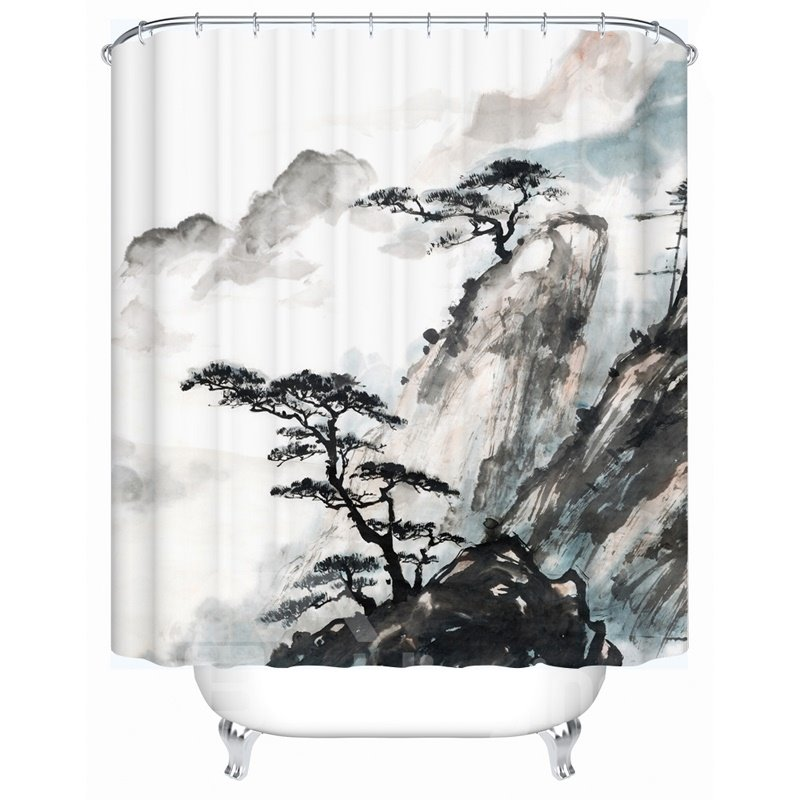 Traditional Chinese Painting Pattern Eco Friendly Material Anti