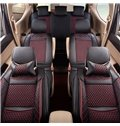 PU Leather Nets Pattern Simple Style Single Car Seat Covers