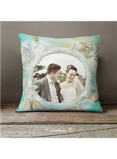 Polyester Material Your Own Picture On It Pillow Case