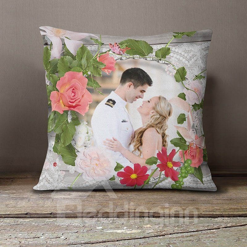 Creative Gift Your Own Picture On It DIY Pillow Case