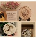 Couple Gift Wood Material Love Theme Personalised Gift