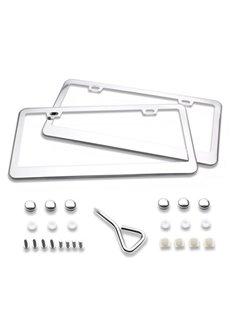 American Gauge License Plate Frame Aluminium Alloy Material