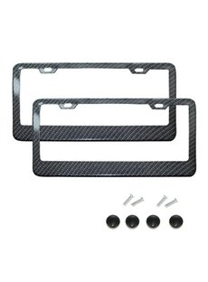 Stainless steel Material License Plate Frame American Gauge