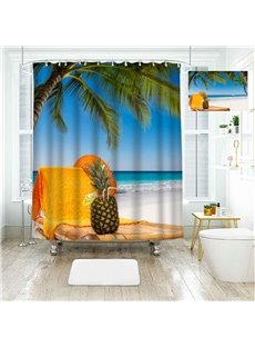 Creative Personal Picture Customization Polyester 3D Shower Curtain
